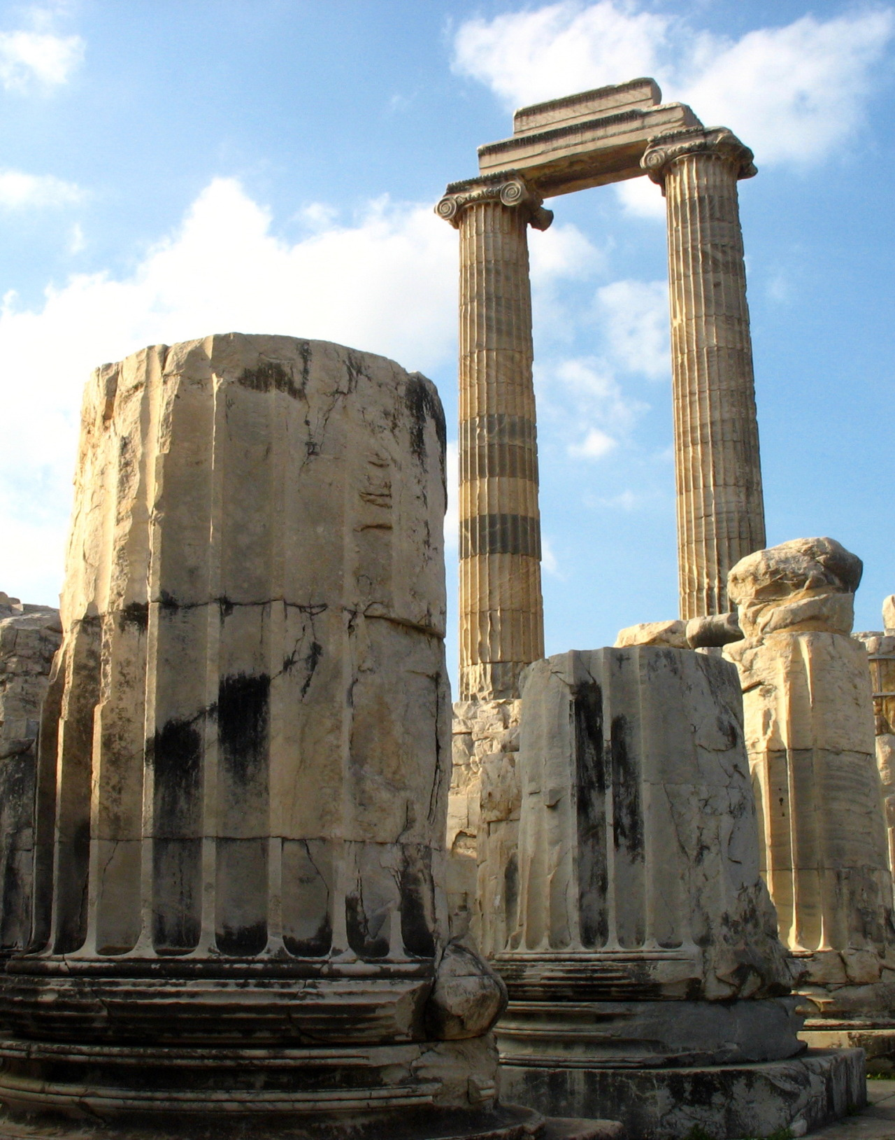Temple of Apollo in the ancient roman city of Didyma, Turkey
