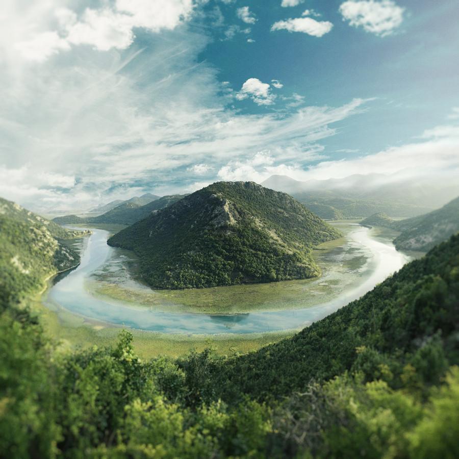 Somewhere in amazing Montenegro