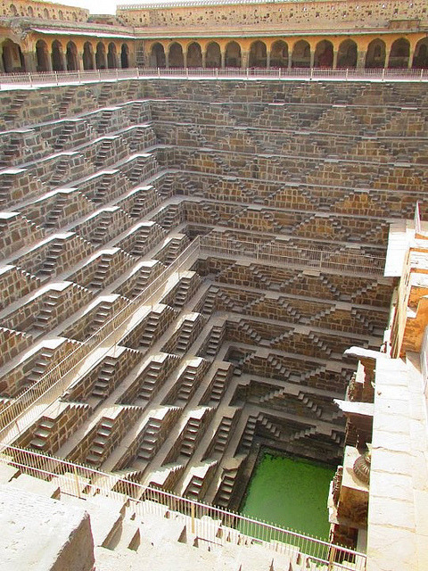 Chand Baori, one of the deepest and largest stepwells in India, served as a location for films such as The Fall and The Dark Knight Rises