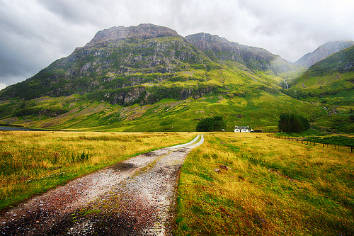 Different landscapes of Scotland