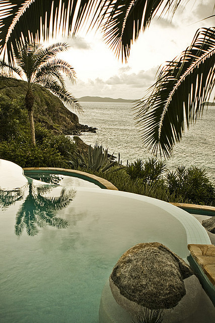 Infinity Pool at Little Dix Bay, British Virgin Islands