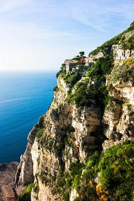 The cliffside villa, Amalfi Coast / Italy