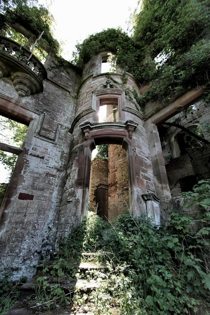 Milkbank House ruins near Lockerbie / Scotland