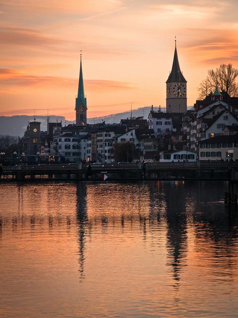 Zurich sunset / Switzerland