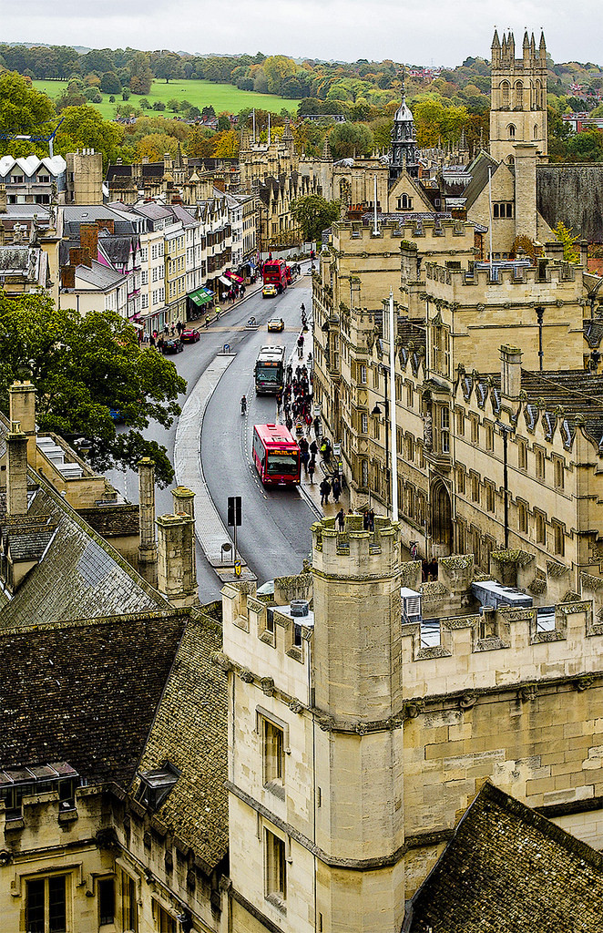 High Street - Oxford / England