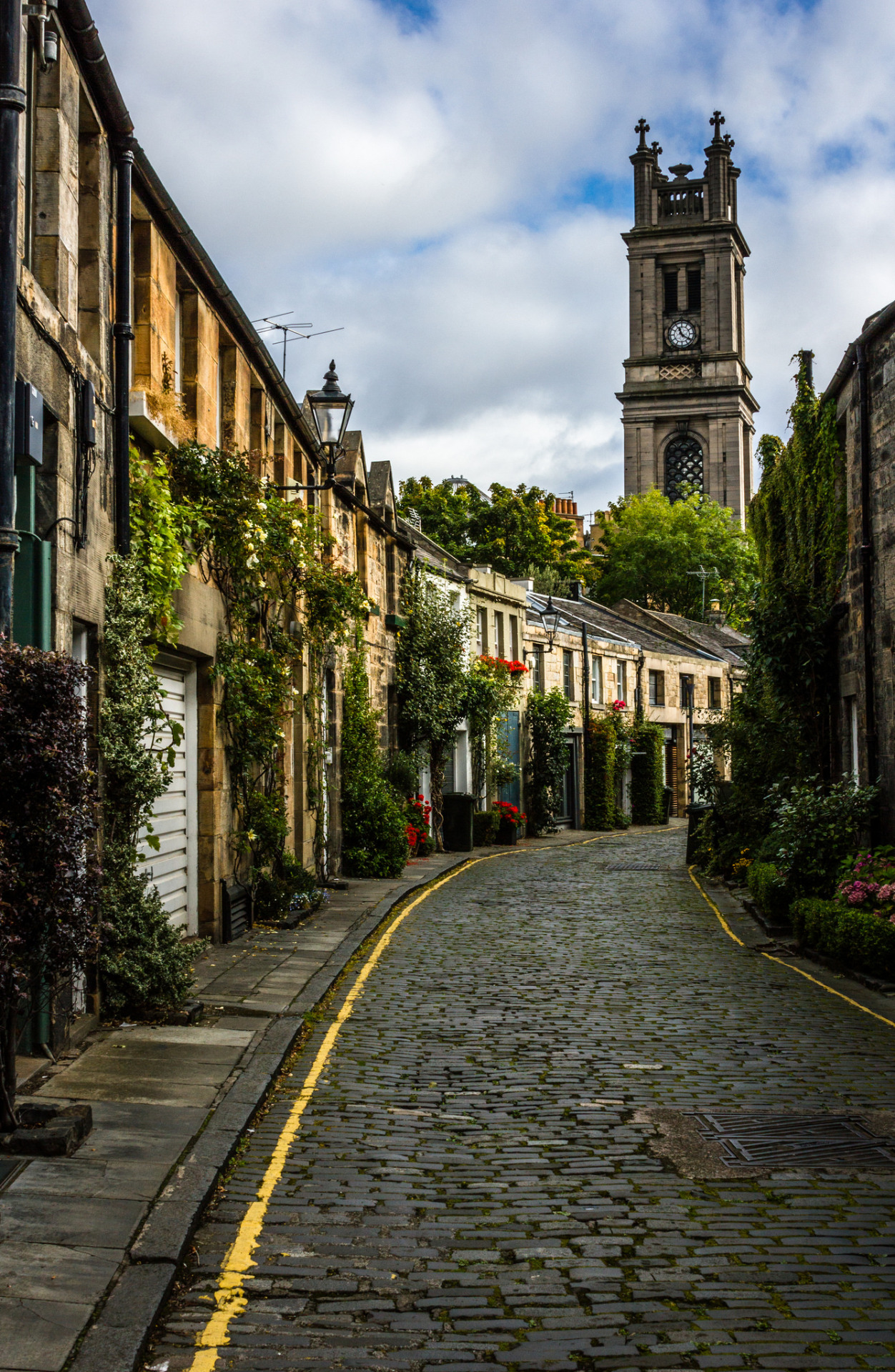 Circus Lane, Edinburgh / Scotland